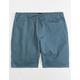 BRIXTON Madrid Blue Mens Shorts