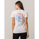 ELEMENT Trippy Circle Womens Tee