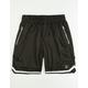 UNCLE RALPH Black Mens Basketball Shorts