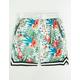 UNCLE RALPH Floral White Mens Shorts