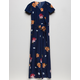 WHITE FAWN Floral Girls Surplus Jumpsuit