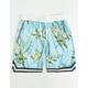 UNCLE RALPH Floral Blue Mens Shorts