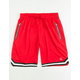 UNCLE RALPH Red Mens Basketball Shorts