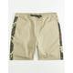 CRASH Camo Mens Jogger Shorts