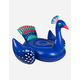 SUNNYLIFE Luxe Ride-On Peacock Inflatable Pool Float