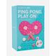 SUNNYLIFE Donut Ping Pong Set