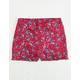 WHITE FAWN Ditsy Ruffle Girls Shorts