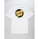 SANTA CRUZ Other Dot White Mens T-Shirt