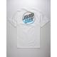 SANTA CRUZ Opus Fade White Mens T-Shirt