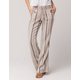SKY AND SPARROW Stripe Womens Linen Pants