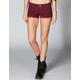 TRUE SOULMATE Metro Stripe Womens Shorts