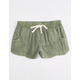 BILLABONG Mad For You Olive Girls Shorts