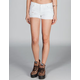 TRUE SOULMATE Pyramid Stud Womens Denim Shorts