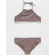 DAMSEL High Neck Web Girls Bikini Set