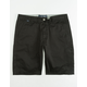 FOX Essex Black Mens Shorts