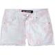 SCISSOR Tie Dye Girls Denim Shorts