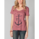 RVCA Anchor Opposite Womens Tee