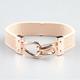 FULL TILT Hook & Eye Faux Leather Bracelet