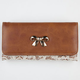 Bow Lace Overlay Wallet