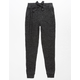 WHITE FAWN Marled Hachi Girls Jogger Pants