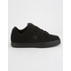 DC SHOES Pure Black & Pirate Black Mens Shoes