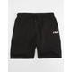 FILA Tanaro Black Mens Sweat Shorts