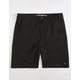 GROM Off Road Black Boys Hybrid Shorts