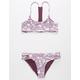 FULL TILT Paisley Reversible Girls Bikini Set