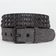 Herringbone Studded Mens Belt