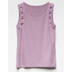 FULL TILT Lattice Trim Girls Tank