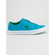 CONVERSE One Star Pinstripe Hawaiian Ocean & Jolly Green Mens Shoes