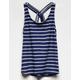 FULL TILT Ribbed Stripe Girls Tank