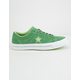 CONVERSE One Star Pinstripe Mint Green & Jade Lime & White Mens Shoes