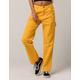 DICKIES Yellow Womens Carpenter Pants