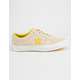 CONVERSE One Star Pinstripe Vanilla & Solar Power & White Mens Shoes