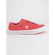 CONVERSE One Star Pinstripe Paradise Pink & Geranium Pink Mens Shoes