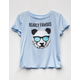 FULL TILT Bearly Famous Girls Tee