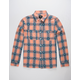 HUF Plantlife Mens Plaid Shirt