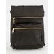 JANSPORT Indio Black & Gold Crossbody Mini Backpack