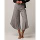IVY & MAIN Marled Knit Culotte Pants