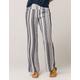 IVY & MAIN Stripe Womens Linen Pants