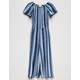 FULL TILT Stripe Palazzo Girls Jumpsuit