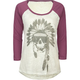 BILLABONG Ocean War Womens Baseball Tee