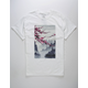LA FAMILIA Faded Blossom Mens T-Shirt