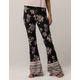 IVY & MAIN Floral Womens Flare Pants