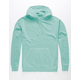 INDEPENDENT TRADING COMPANY Mint Pigment Dyed Mens Hoodie