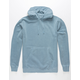 INDEPENDENT TRADING COMPANY Slate Blue Pigment Dyed Mens Hoodie