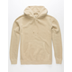INDEPENDENT TRADING COMPANY Khaki Pigment Dyed Mens Hoodie