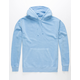 INDEPENDENT TRADING COMPANY Light Blue Pigment Dyed Mens Hoodie