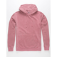 INDEPENDENT TRADING COMPANY Burgundy Pigment Dyed Mens Hoodie